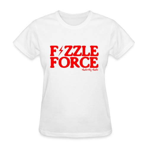 fizzle force red png - Women's T-Shirt