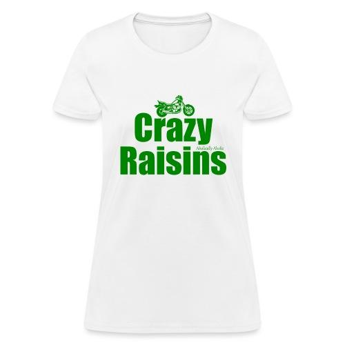 raisins 2 green png - Women's T-Shirt