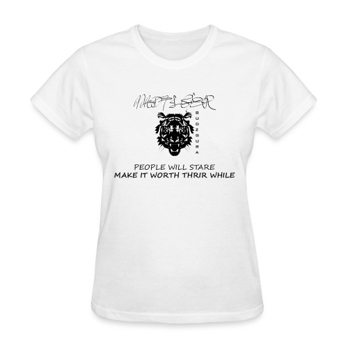MAD TIGER BLACK AND WHITE - Women's T-Shirt
