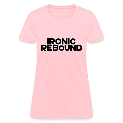 ironic rebound 5 png - Women's T-Shirt