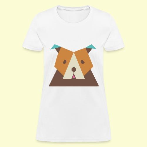 Geometric bulldog - Women's T-Shirt