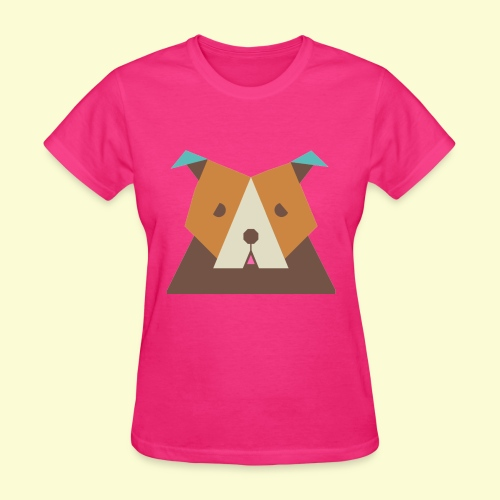 Geometric bulldog - Women's T-Shirt