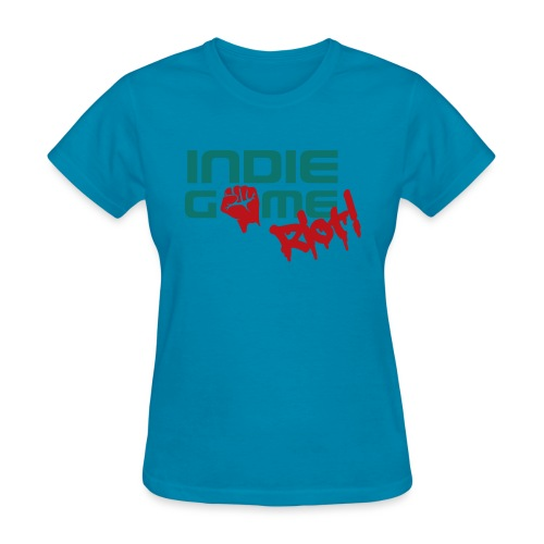 62069 Indie Game Riot png - Women's T-Shirt
