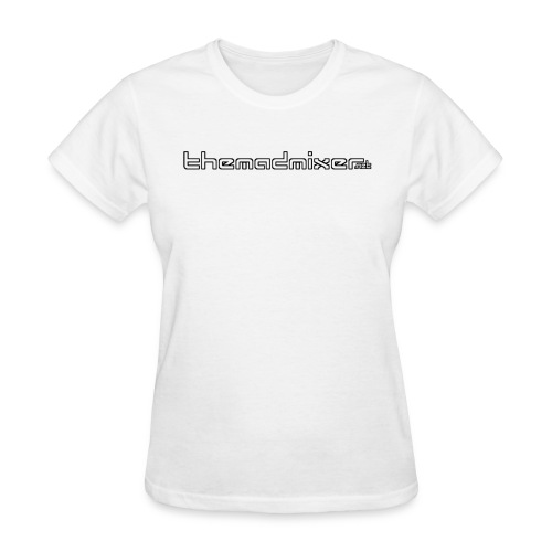 themadmixer Text White - Women's T-Shirt