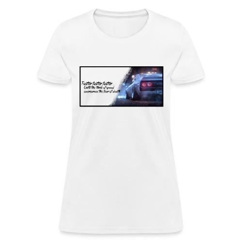 Skyline - Thrill of speed - Women's T-Shirt