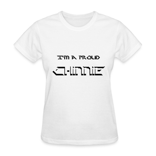 Chinnie SS png - Women's T-Shirt