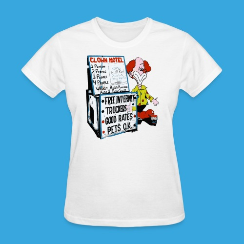 Clown Sleep - Women's T-Shirt