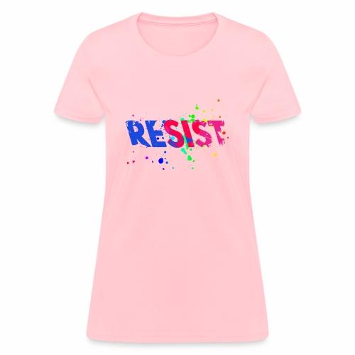 Resist - Women's T-Shirt