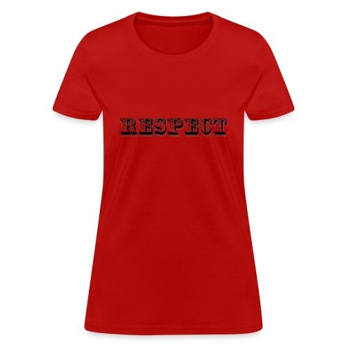 Respect Life Hack - Women's T-Shirt