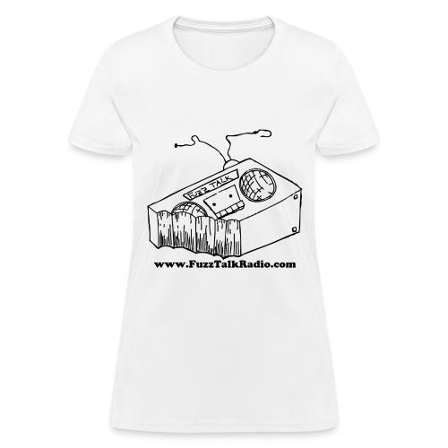 FTRLogoBlackAddress - Women's T-Shirt