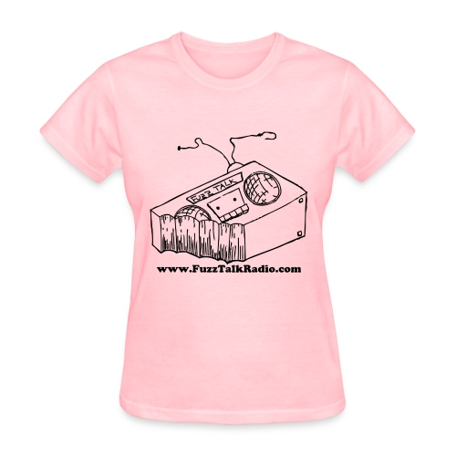 FTRLogoBlackAddress - Women's T-Shirt