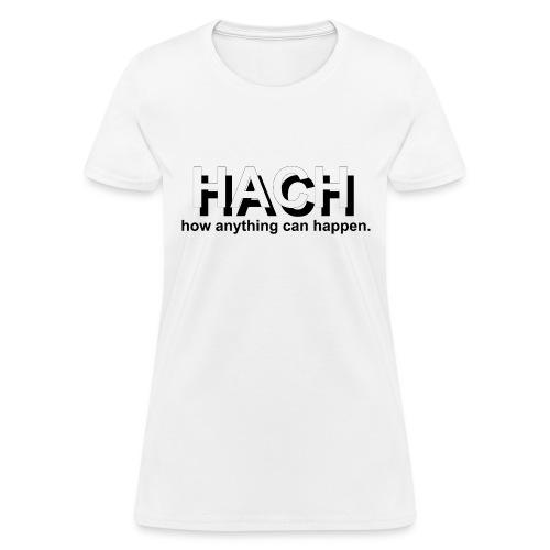 HACH Design Logo - Women's T-Shirt