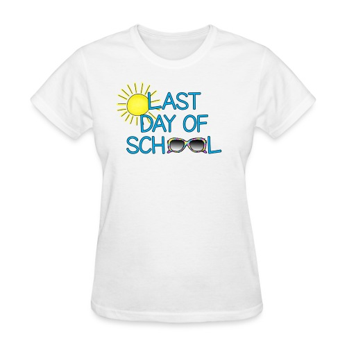 last day 3 png - Women's T-Shirt