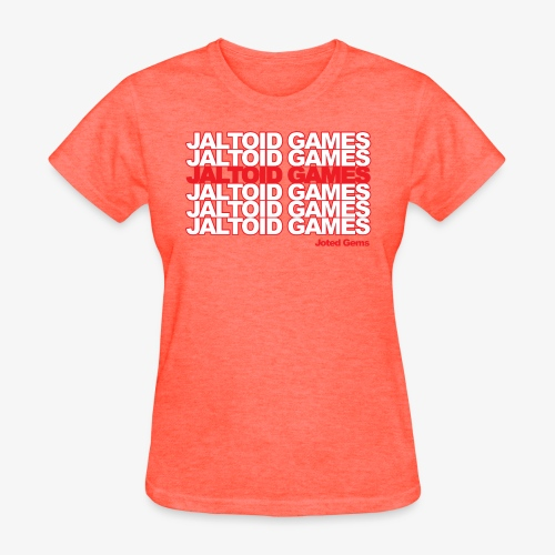 Jaltoid Games Novelty Red - Women's T-Shirt