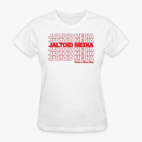 Jaltoid Media Novelty Red - Women's T-Shirt