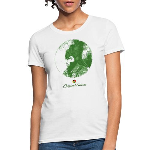 Original Kulture His and Her Majesty Green - Women's T-Shirt