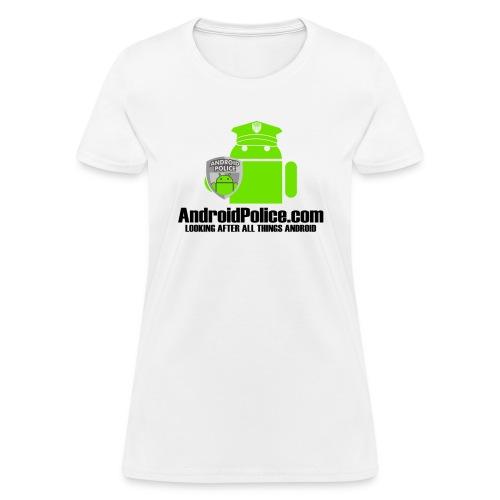 w jack Design 2 white - Women's T-Shirt