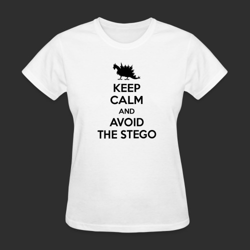 Keep Calm Black - Women's T-Shirt