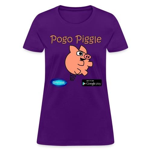 Pogo Piggle - Women's T-Shirt