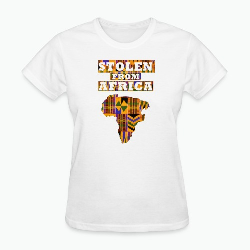STOLEN FROM AFRICA Kente - Women's T-Shirt