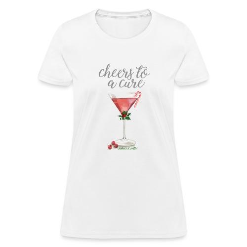 Cheers: Crohns Colitis - Women's T-Shirt
