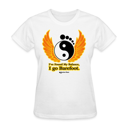 I've Found My Balance, I go Barefoot - Women's T-Shirt