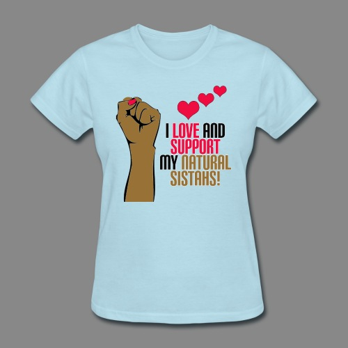 Love and Support Basic Tee - Women's T-Shirt