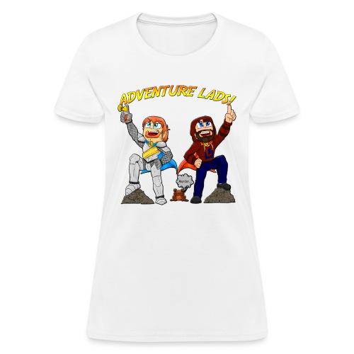 adventure lads large 2 - Women's T-Shirt