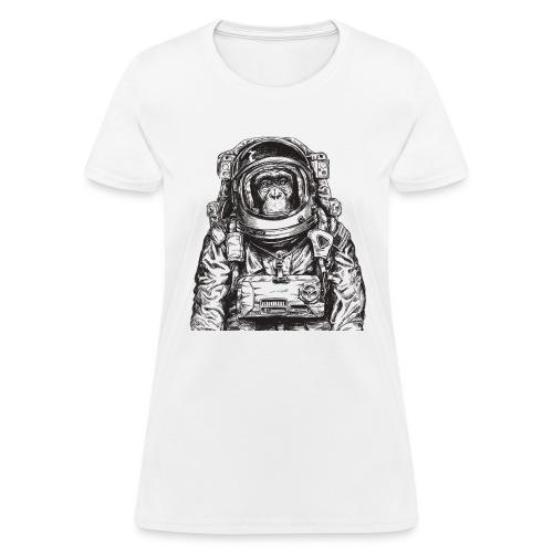 Monkey Astronaut - Women's T-Shirt