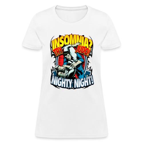 Insomnia Judo Design - Women's T-Shirt