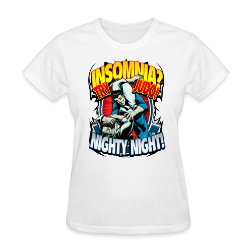 Judo Shirt - Insomnia Judo Design - Women's T-Shirt