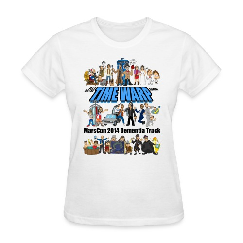marscon 2014 dementia track tshirt - Women's T-Shirt
