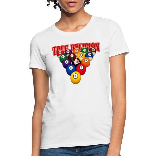 TRUE RELIGION BILLIARD INSPIRED - Women's T-Shirt