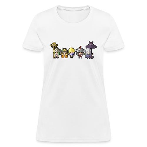 Half Minute Hero characters - Women's T-Shirt