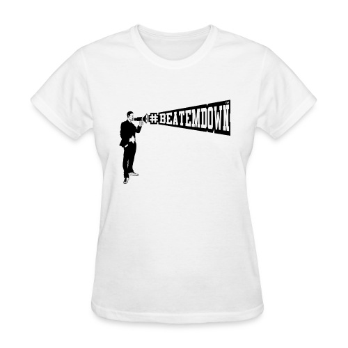 bomani lrgbeatemdown - Women's T-Shirt