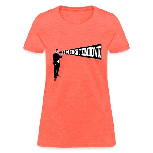 bomani lrgbeatemdown - Women's T-Shirt