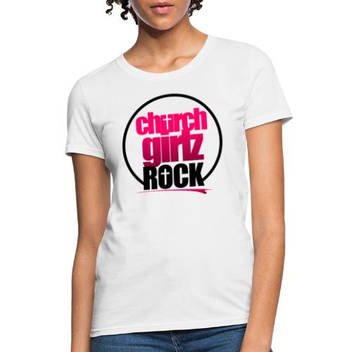 church girlz rock - Women's T-Shirt