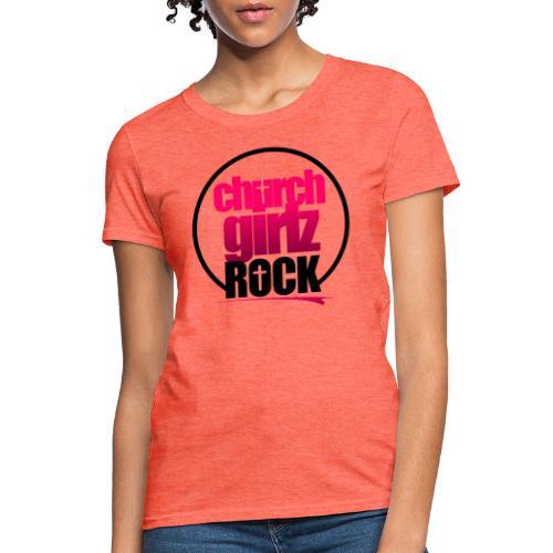 church girlz rock - Women's T-Shirt
