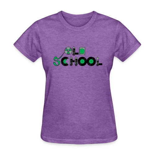 Old School Music - Women's T-Shirt