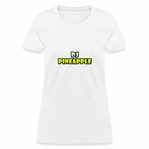 DJ Pineapple Big Logo png - Women's T-Shirt