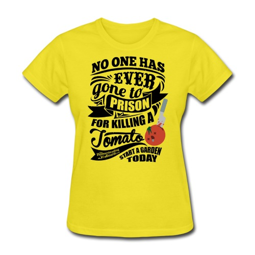 KillingATomatomonoShirt - Women's T-Shirt