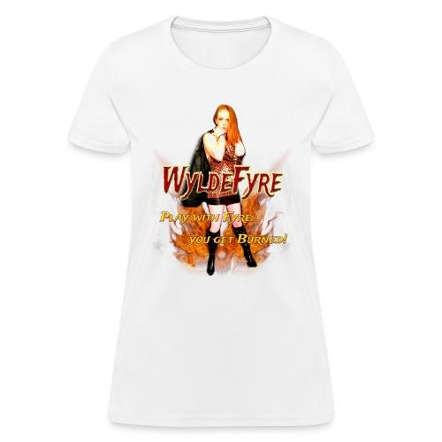 WyldeFyre (Design 2) - Women's T-Shirt