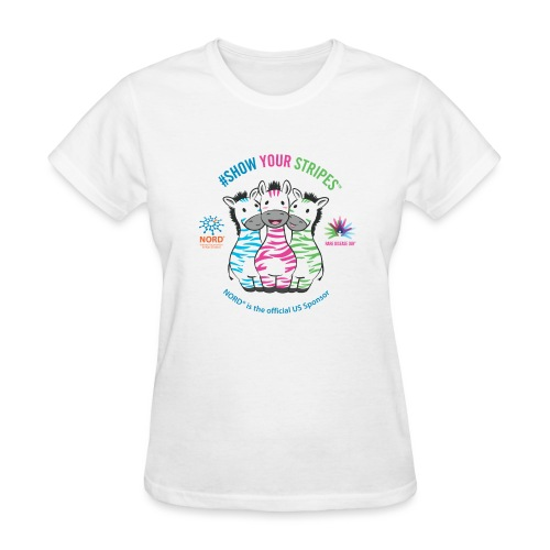 Rare Disease Day #Show Your Stripes - Women's T-Shirt