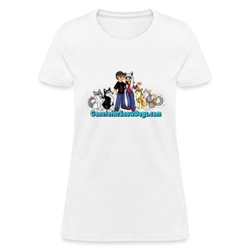 Snow Dogs Vlogs Logo - Women's T-Shirt