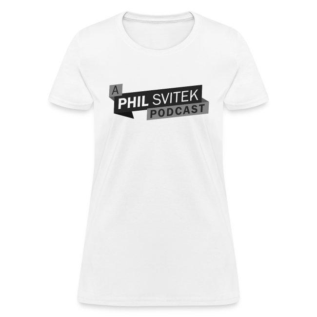 A Phil Svitek Podcast Logo ONLY Design