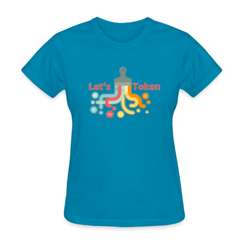 Let's Token by Glen Hendriks - Women's T-Shirt