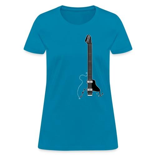 Electric Guitar - Women's T-Shirt