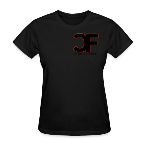 CF Logo Original vector w Chicago Force - Women's T-Shirt