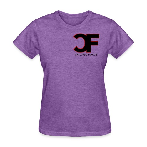 CF Logo Original vector w Chicago Force - Women's T-Shirt