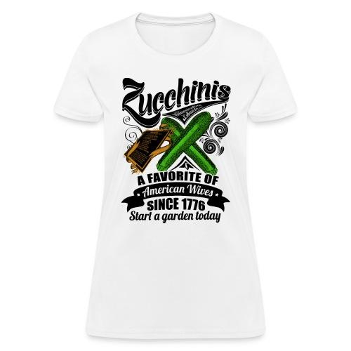 Zucchinis_PrintBlack - Women's T-Shirt